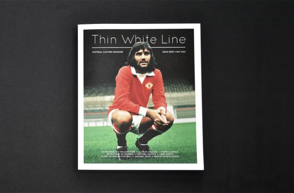 Thin White Line Issue 0 preview