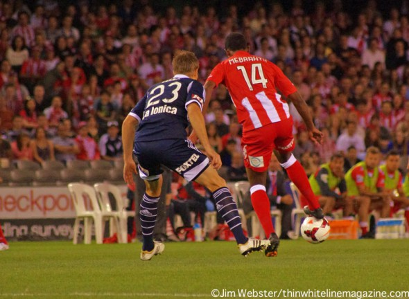 Most A-League players have the ability to levitate. Remarkable.