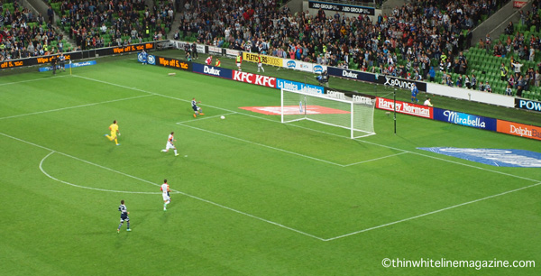 Unlike his goal against the Canberra Cosmos all those years ago, this one was definitely onside.