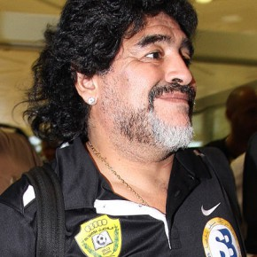 Diego Maradona, yes _that_ Maradona