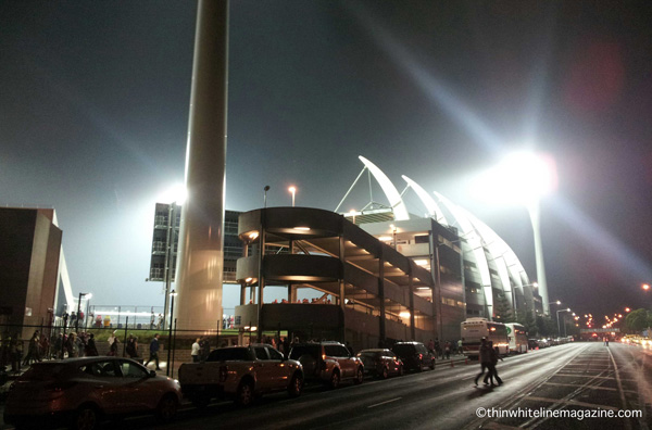 Kardinia Park by night.