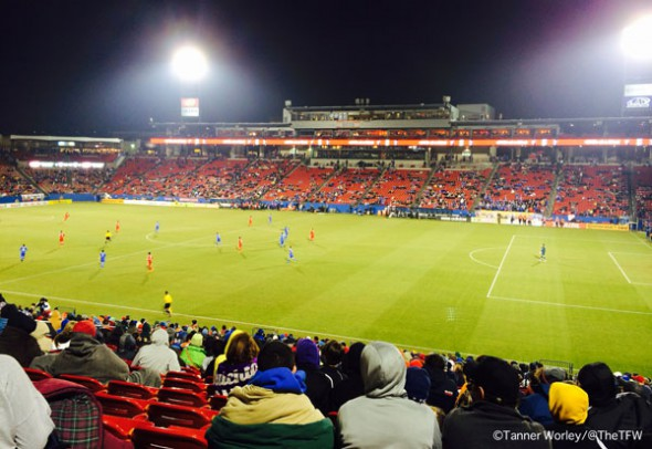 FC Dallas game day
