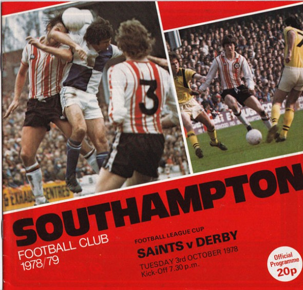 Southampton vs Derby – League Cup, 1978
