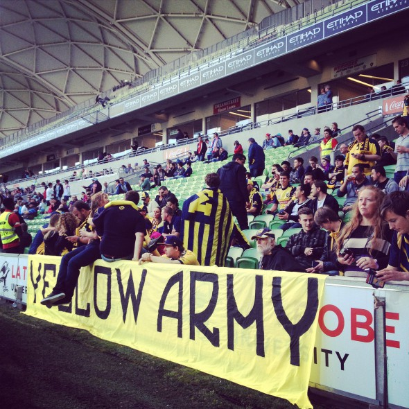 The Yellow Army takes the City