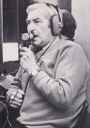 Hospital DJ Geoff Rose - did you know he's met the Black and White Minstrels? And Count Basie? And Gerry Gow?