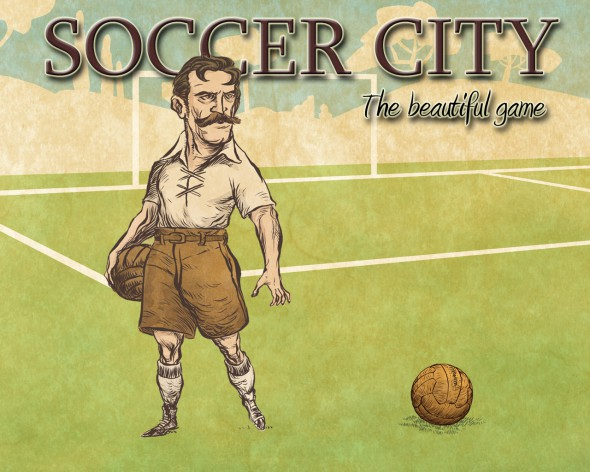 Soccer City – the board game