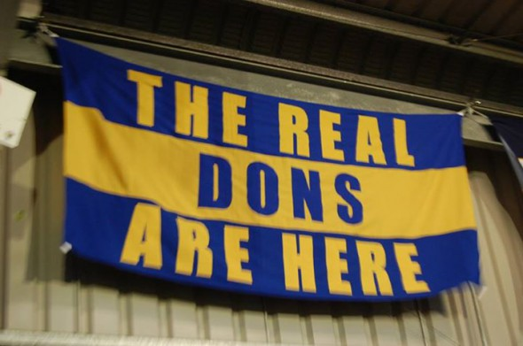 The real Dons are here