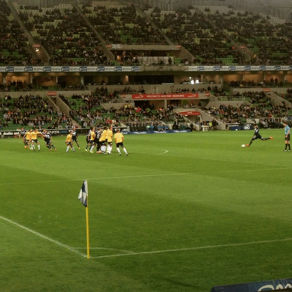 Melbourne Victory Central Coast Mariners A-League AAMI Park