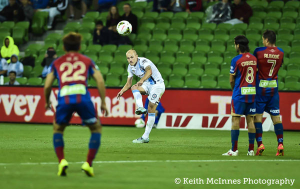 Melbourne City's Aaron Mooy