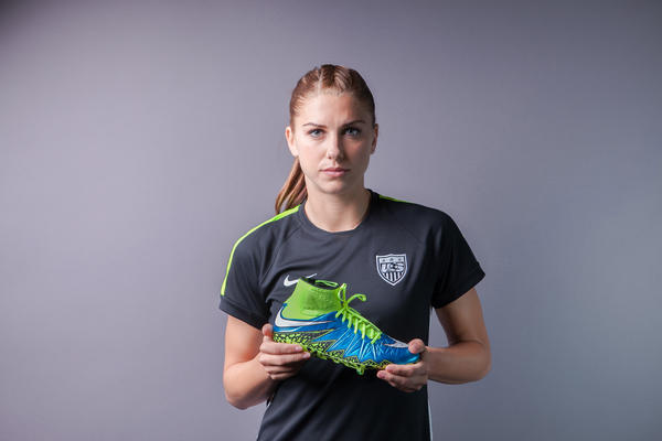 Nike Hypervenom native Alex Morgan