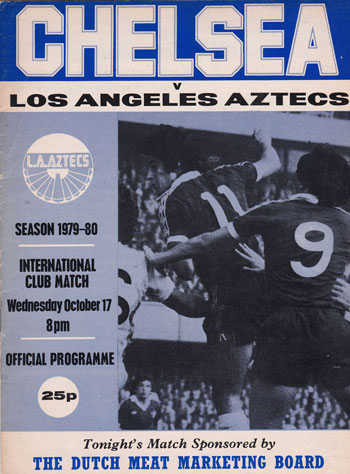 Chelsea vs Los Angeles Aztecs 1979