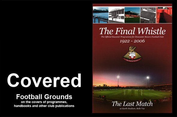 Covered – football grounds on programme covers