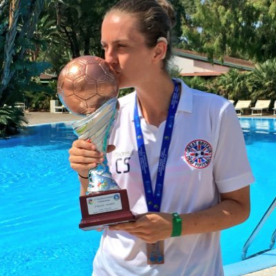 Claire Stancliffe and GB Deaf football aiming for the Deaflympics